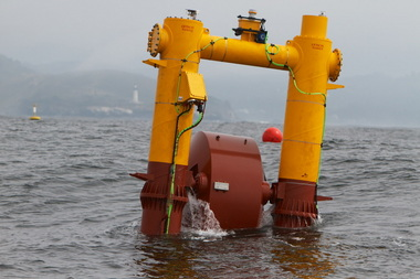 The Wet-NZ wave energy device is bobbing in the Oregon surf, testing the potential for waves as a power source.