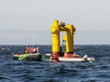 WET-NZ at the NW National Marine Renewable Energy Center's Ocean Test Site